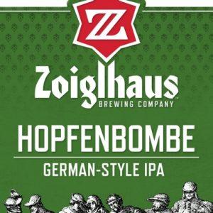 Zoiglhaus hopfenbombe German style IPA